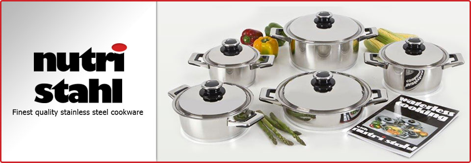 Home - Nutri Stahl Cookware | Manufacturer of Stainless